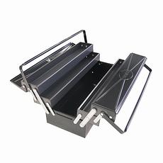 Ironside Werkzeugkasten Metall silber