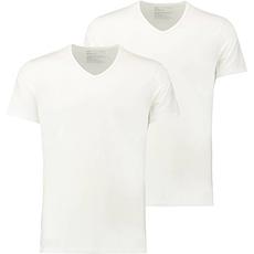 Puma T-Shirt 2er Pack V-Neck Weiß