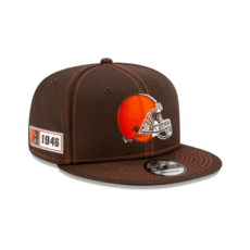 New Era Cleveland Browns Cap On Field 9FIFTY braun