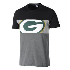 Fanatics Green Bay Packers T-Shirt Cut & Sew grau/schwarz