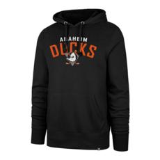 47 Brand Anaheim Ducks Hoodie Outrush Headline schwarz