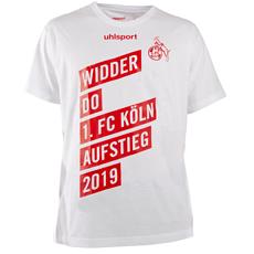 uhlsport 1. FC Köln T-Shirt Aufstieg 18/19 weiß/rot