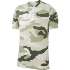 Nike T-Shirt Camouflage Sand