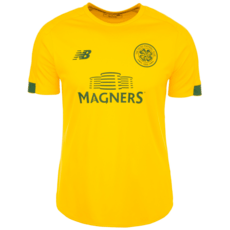 New Balance FC Celtic Glasgow Trainingsshirt On-Pitch gelb