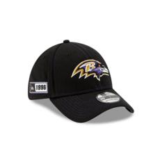 New Era Baltimore Ravens Cap On Field 39THIRTY schwarz