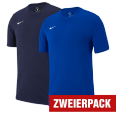 Nike T-Shirt CLUB 19 Set 2er Pack blau/dunkelblau