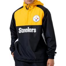 New Era Pittsburgh Steelers Windbreaker schwarz/gelb