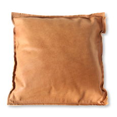 The Pearsons Home Kissen Leather cognac