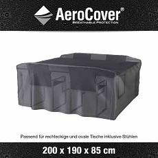 Aero Cover Schutzhülle Sitzgruppe 200x190x85 cm anthrazit