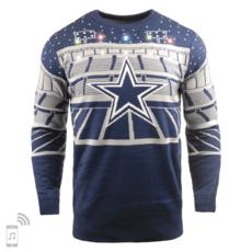 Forever Collectibles Dallas Cowboys Ugly Sweater Bluetooth blau/grau