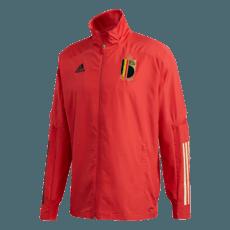 Adidas Belgien Präsentationsjacke EM 2020 Rot