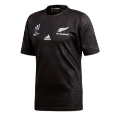 Adidas Neuseeland Rugby Trikot WM 2019 Schwarz