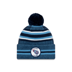 New Era Tennessee Titans Beanie On Field Sport Knit HM blau