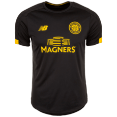 New Balance FC Celtic Glasgow Trainingsshirt On-Pitch schwarz/gelb