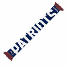 Forever Collectibles New England Patriots Schal Wordmark blau