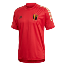 Adidas Belgien Training-Shirt EM 2020 Rot