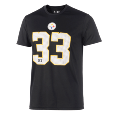 New Era Pittsburgh Steelers T-Shirt Supporters II schwarz