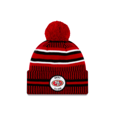 New Era San Francisco 49ers Beanie On Field Sport Knit HM rot