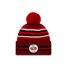 New Era San Francisco 49ers Beanie On Field Sport Knit HM rot