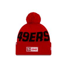 New Era San Francisco 49ers Beanie On Field Sport Knit RD rot