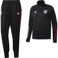 Adidas FC Bayern München Trainingsanzug 2020/2021 Schwarz