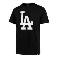 47 Brand Los Angeles Dodgers T-Shirt Imprint Super Rival schwarz