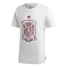 Adidas Spanien T-Shirt EM 2021 Weiß