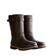 TRAVELIN OUTDOOR Winterstiefel Island schwarz