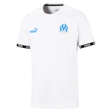 Puma Olympique Marseille Trainingsshirt Basic Weiß