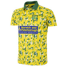 Copa Norwich FC 1992/94 Short Sleeve Retro Shirt