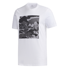 Adidas T-Shirt CAMO BOX Weiß