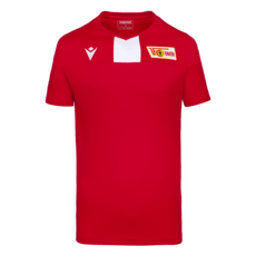 Macron 1. FC Union Berlin Trainingsshirt 2019/2020 rot/weiß
