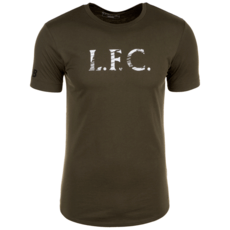 New Balance FC Liverpool T-Shirt Stacked oliv
