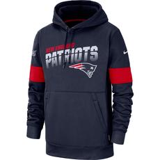 Nike New England Patriots Thermo Hoodie 2019/2020 Blau