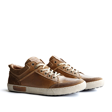 TRAVELIN OUTDOOR Sneaker Aberdeen Low cognac