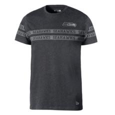 New Era Seattle Seahawks T-Shirt Tonal Black grau/schwarz