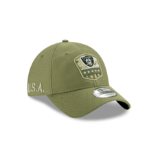 New Era Oakland Raiders Cap Salute To Service 2019 9TWENTY oliv