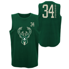 Outerstuff EMEA Milwaukee Bucks Tanktop Giannis All Net Basic grün