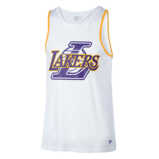 New Era Los Angeles Lakers Tanktop Double Logo weiß