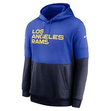 Nike Los Angeles Rams Hoodie Team Lockup Therma royal/navy