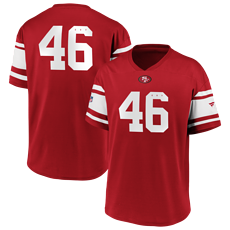 Fanatics San Francisco 49ers Jersey Iconic Supporter Poly Mesh rot
