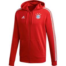 Adidas FC Bayern München 3S Zip Hoodie 2020/2021 Rot