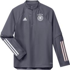 Adidas Deutschland DFB Trainingstop EM 2020 Kinder Dunkelgrau