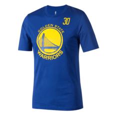 Outerstuff EMEA Golden State Warriors T-Shirt Steph Curry Standing Tall blau