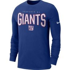 Nike New York Giants Longsleeve Shirt 2019/2020 Blau