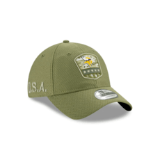 New Era Minnesota Vikings Cap Salute To Service 9TWENTY oliv