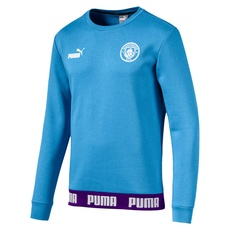 Puma Manchester City Sweatshirt FtblCulture hellblau/lila