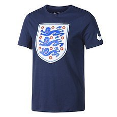 Nike England T-Shirt Crest dunkelblau