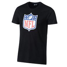 New Era T-Shirt Dryera NFL Shield schwarz