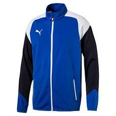 Puma Trainingsjacke Team Blau/Weiß